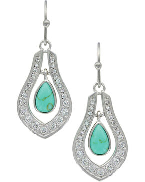 Montana Silversmiths Women's Silver School of Nature Earrings , Silver, hi-res