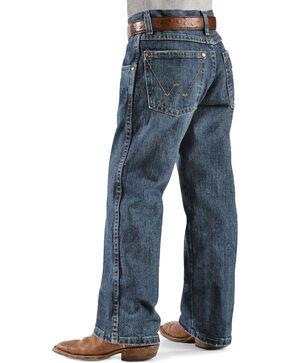 Wrangler Boys' Retro Relaxed Fit Straight Leg Jeans - 8-16, Denim, hi-res