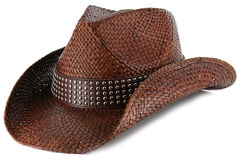 Shyanne Women's Hector Straw Cowgirl Hat, , hi-res
