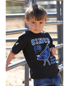 Cinch Toddler Boys' Short Sleeve Glow-in-the-Dark Tee, Black, hi-res
