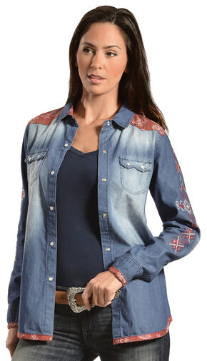 Tasha Polizzi Women's Outlaw Shirt, Multi, hi-res