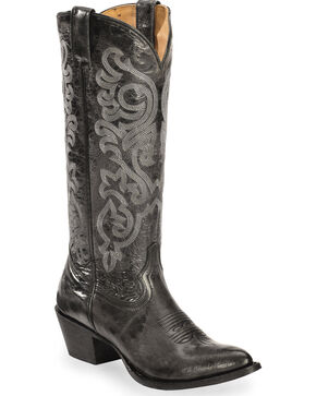 Shyanne Women's Tall Black Western Boots - Narrow Medium Toe, Black, hi-res