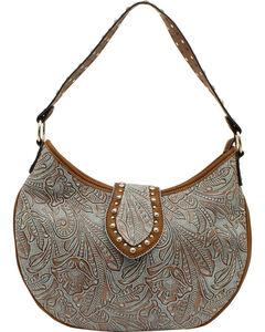 Blazin Roxx Women's Floral Embossed Hobo Bag, , hi-res