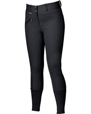 Dublin Women's Everyday Slender Full Seat Breeches, Black, hi-res