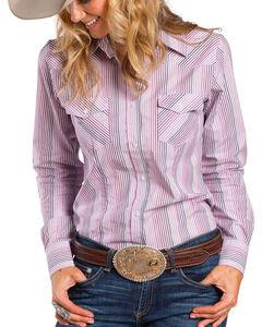 Sherry Cervi by Resistol Women's Delta Striped Long Sleeve Shirt, , hi-res
