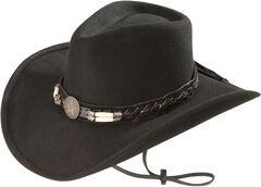 Bullhide Skynard Wool Felt Cowboy Hat, , hi-res