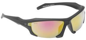 5.11 Tactical Burner Half-Fram Mirrored Sunglasses, Silver, hi-res
