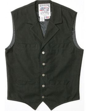 Schaefer Ranger Vest, Black, hi-res