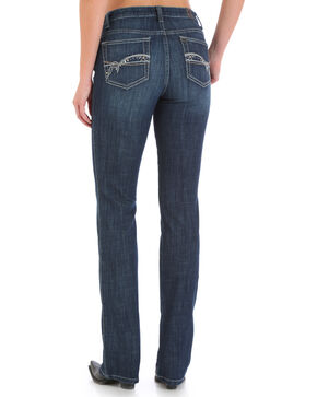 Wrangler Aura Women's Instantly Slimming Jeans - Boot Cut, Indigo, hi-res