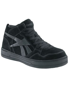 Reebok Women's Dayod High Top Skate Shoes - Composition Toe, Black, hi-res