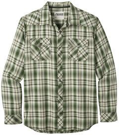 Mountain Khakis Men's Olive Plaid Rodeo Long Sleeve Shirt , , hi-res