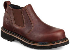 Red Wing Cass Slip-On Work Boots - Steel Toe , , hi-res