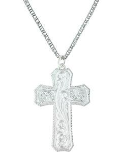 Montana Silversmiths Women's True Western Cross Necklace , , hi-res