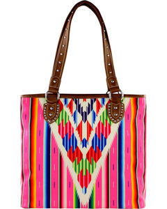Montana West Serape Concealed Handgun Collection Handbag, , hi-res