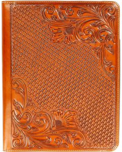 Floral Tooled Basketweave iPad 4 Case, , hi-res