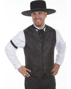 Scully Men's Paisley Western Vest , , hi-res