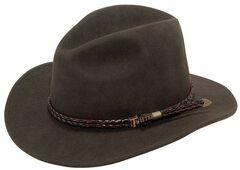 Twister Omaha Crushable Felt Hat, , hi-res