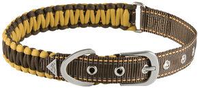 "Browning Brown Large Survival Cord Collar - Large 18 - 28"", Brown, hi-res"