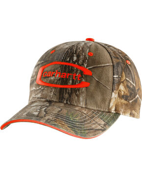 Carhartt Camo Midland Cap, Orange, hi-res