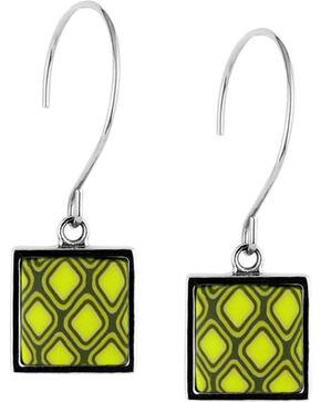 Jilzarah Santa Fe Square Hoop Earrings, Multi, hi-res