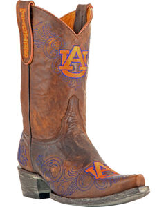 Gameday Auburn University Cowgirl Boots - Snip Toe, , hi-res