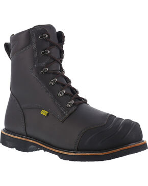 """Iron Age Men's 8"""" Thermos Shield Work Boots , Black, hi-res"""