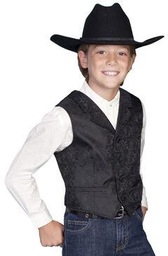 Scully Boys' Paisley Vest, , hi-res