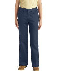 Dickies Girls' Stretch Bootcut Pants - 7-14, , hi-res
