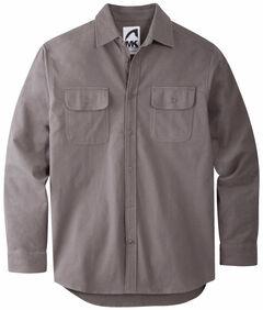 Mountain Khakis Men's Castlerock Grey Ranger Chamois Shirt, , hi-res