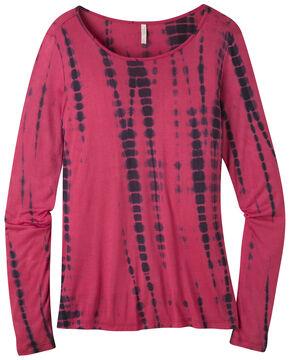 Mountain Khakis Women's Targhee Long Sleeve Shirt, Burgundy, hi-res