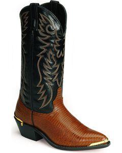 Laredo Lizard Print Western Boots, , hi-res