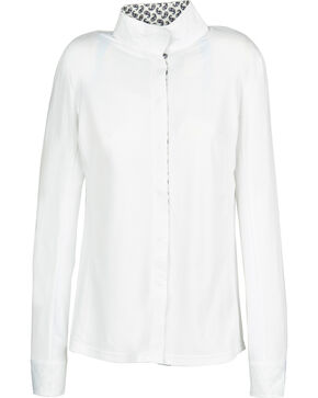 Dublin Women's Coolmax Long Sleeve Show Shirt, Paisley, hi-res