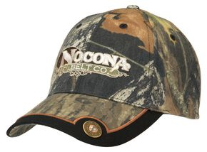Nocona Mossy Oak Camo Shotgun Shell Concho Cap, Camouflage, hi-res