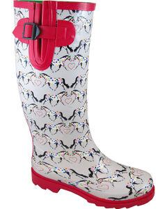 Smoky Mountain Women's Horseplay Waterproof Boots, , hi-res