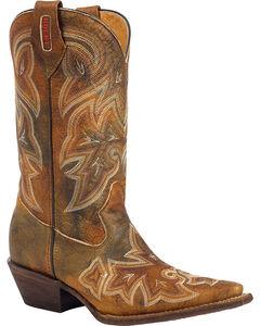 Rocky Women's Handhewn Western Boots, , hi-res