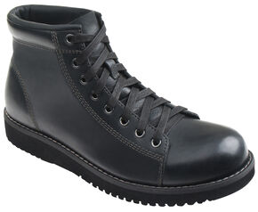 Eastland Men's Black Aiden Lace Up Boots , Black, hi-res
