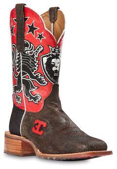 Cinch Edge Leon Cowboy Boots - Square Toe, , hi-res