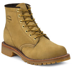 """Chippewa Men's 6"""" Lace-Up Golden Apache Lugged Boots - Round Toe, , hi-res"""