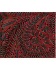 American West Boyfriend Ladies Crimson Bi-Fold Wallet, , hi-res