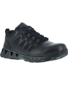 Reebok Men's ZigKick Tactical Oxford Shoes - Soft Toe , Black, hi-res