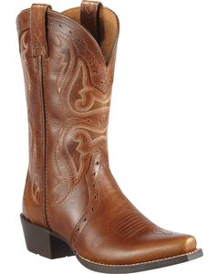 Ariat Youth Girls' Heritage Vintage Cedar Cowgirl Boots, , hi-res