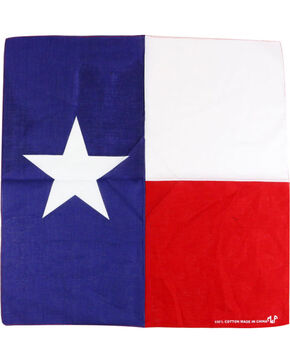 MF Western Texas Flag Bandana, No Color, hi-res