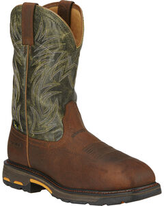 Ariat Men's Workhog Internal Met Guard Work Boots - Composite Toe, , hi-res