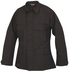 Tru-Spec Men's Black BDU Coat, , hi-res