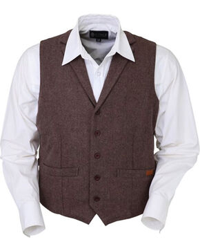 Outback Trading Co. Men's Jessie Vest, Dark Brown, hi-res