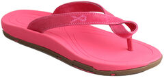 "Twisted X Women's ""Tough Enough to Wear Pink"" Sandals , , hi-res"