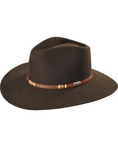 Stetson Men's Light Brown Monterey T Felt Hat , , hi-res
