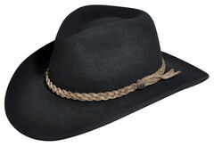 Wind River by Bailey Switchback Black Outback Hat, , hi-res