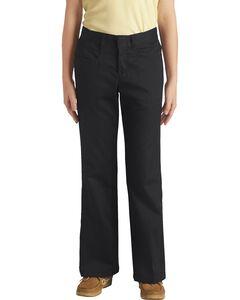 Dickies Junior Girl's Stretch Bootcut Pants - Plus, , hi-res