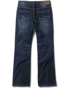 Silver Boys' Zane Bootcut Jeans - 8-16, Denim, hi-res